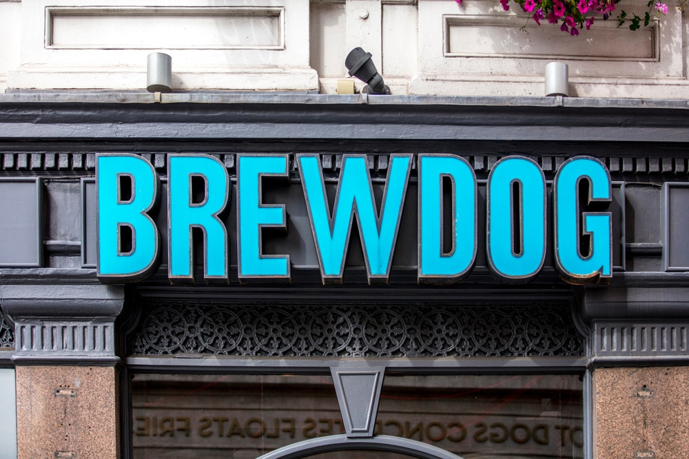 %name brewdog social media