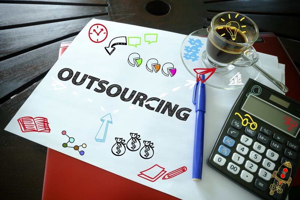 outsource business social media